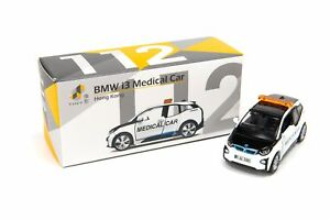 TINY City No.112 HK Hong Kong BMW i3 KMB Medical Mini Toy car Diecast Model
