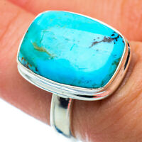 Arizona Turquoise 925 Sterling Silver Ring Size 6.75 Ana Co Jewelry R36282F