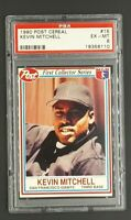 1990 Post Cereal #15 Kevin Mitchel Giants PSA 5 EX Low Pop Only 7 Higher