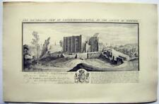 CASTLES BUCKS ANIQUITIES SAMUEL BUCK ENGRAVING CASTLE-RISING, NORFOLK 1738