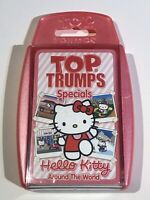 TOP TRUMPS SPECIALS HELLO KITTY AROUND THE WORLD CARD GAME NEW SEALED