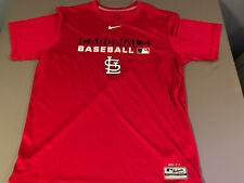 NEW Mens Nike Authentic Collection St. Louis Cardinals DRI-FIT T-Shirt MED