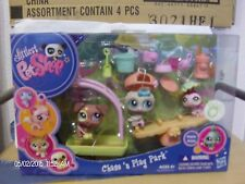 Littlest Pet Shop Chase n Play Park #1474, 1475 & 1476 New in Box
