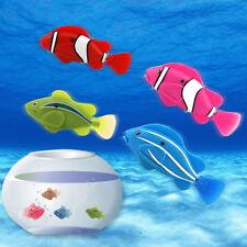 4 tlg Robo Fish Roboter Fisch - RoboTurtle Seahorse Goliath Zuru Zubehör Playset