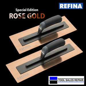 Refina SuperFLEX 3 GOLD Trowel Stainless Steel Skimming Trowel / Holder