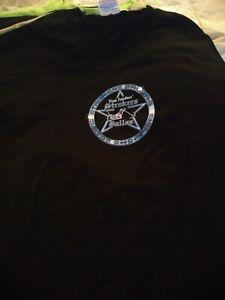 Men Gildan Rick Fairless Strockers Dallas Custom Choppers T-Shirt L Motorcycle
