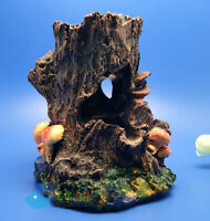 Aquarium Ornament Tree Trunk Root Drift Wood HIDE fish tank decoration landscape