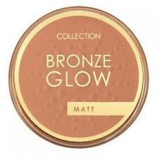 COLLECTION MAKEUP Bronze Glow Matte Deep Bronzer TERRACOTTA Vitamin E & Silk