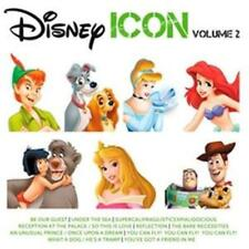 DISNEY ICON Volume 2 CD NEW Little Mermaid Mary Poppins Beauty And The Beast