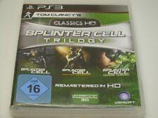 !!! PLAYSTATION PS3 SPIEL Splinter Cell Trilogy HD, gebraucht aber GUT !!!