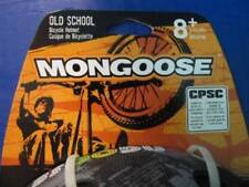 MONGOOSE OLD SKOOL RETRO BOYS GIRLS 8+ SPORT SCOOTER BIKE BICYCLE SAFETY HELMET