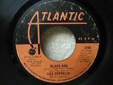 Led Zeppelin 45 Black Dog / Misty Mountain Hop Nice 1971 Psych Rock Orig!