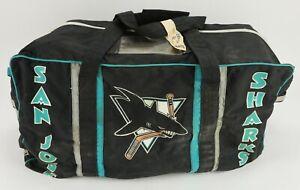 1990s San Jose Sharks NHL TEAM USED Equipment Bag