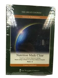 Great Courses DVD Nutrition Made Clear by Roberta H. Anding, Health