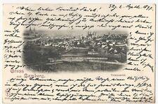 MAGMA Bamberg 1897 Ansichtskarte Totalansicht GRUSS AUS selten frühe Fotogr Ans.