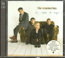 THE CRANBERRIES No Need To Argue ltd ED DOUBLE CD W LIVE ZOMBIE LINGER DREAMS