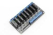 5V 8-CH Eight Channel OMRON SSR Solid State Relay Board Module G3MB 202P Arduino