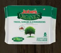 Jobe's Organics Tree Shrub & Evergreen Fertilizer 8 Spikes with Biozome 8-2-2