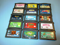 Lot of 15 Game Boy Advance GameBoy SP Games