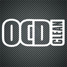 OCD Clean Divertente Vinile Auto Adesivo Decalcomania Grafica Van PARAURTI ADESIVI JDM