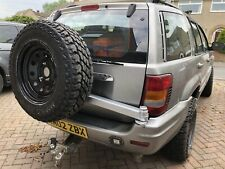 Jeep Grand Cherokee WJ 1999-2005 Swing Away Rear Spare Wheel/Tyre Arm Carrier