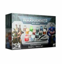 Warhammer 40,000 Paints + Tools Set - Warhammer 40k - Brand New! 60-12