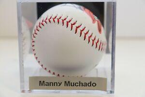 Manny Machado San Diego Padres Orioles Signed Auto PAAS Baseball