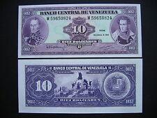 Venezuela 10 bolívares 8.12.1992 (p61c) UNC