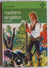 DANIEL DEFOE CAPITANO SINGLETON 4 PLANCHES COMPLETO 1973