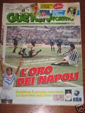 GUERIN SPORTIVO 1990/5 POSTER TOMBA/VOLLER INSERTO COPPA DEL MONDO 1934