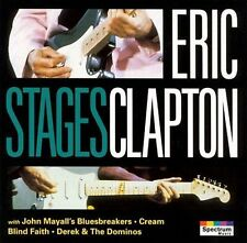 Stages by Eric Clapton (CD, Sep-1998, Karussell--MRA) BRAND NEW/SEALED!!