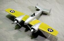 Giant 1/6 scale Grumman XF5F-1 Skyrocket Plans, Templates and Instructions 89ws