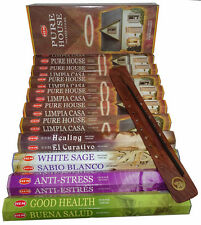 HEM HEXAGONAL PACK INCENSE STICKS  'PURE HOUSE'  PACKAGE