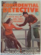 """""""Confidential Detective"""" May 1964 Assault Cover"""