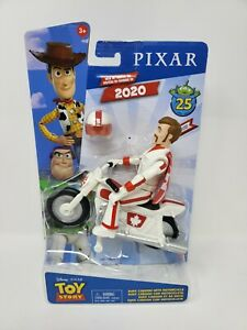 Disney Pixar Toy Story 25Th Anniversary Duke Caboom W Motorcycle Poseable Figure