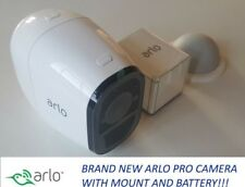 NEW Arlo Pro Netgear HD Add-On Security Camera Wireless White VMC4030 w/Battery