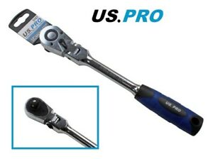 """US PRO Professional Flexi-Head  Ratchet -1/2"""" Drive With quick release 72t. 5167"""