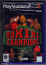 PS2 Boxing Champions (2003), UK Pal, New & Sony Factory Sealed