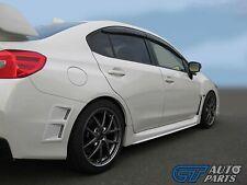 S207 Style Rear Bumper Side Vents For 2015-2020 Subaru WRX/STI RED C7P
