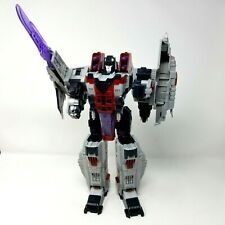 Transformers Starscream Decepticon Hasbro Takara 2004 large G scale figure flaw