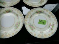 Noritake China Set (Set Of 6 Dishes) 1930s Great Condition - ESTATE FIND