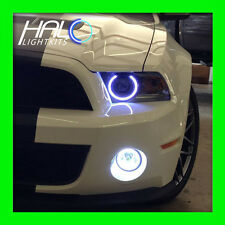 2013-2014 FORD MUSTANG WHITE LED LIGHT HEADLIGHT HALO KIT by ORACLE