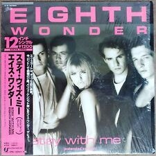 "1985 ""NM Wax"" 12"" Single Eighth Wonder Stay With Me 12•3P-700 Japan Patsy Kensit"