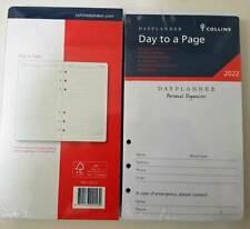 Pr2100 2022 Dayplanner Refill Debden Daily Date 6ring Personal Organiser 172x96m