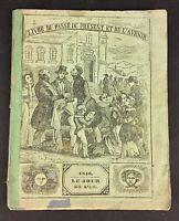 Rare collection Almanach 1846 «livre du passé du présent et de l'avenir «