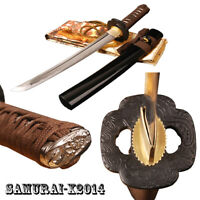 Japanese Samurai Tanto sword full tang self-defense dagger knife carbon steel