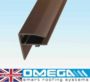 F Section for Polycarbonate Roofing Sheets, For 10mm, 16mm & 25mm Polycarbonate