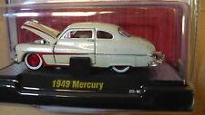 1949 Mercury White   1:64 Scale M2 Diecast