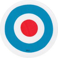 The Who Quadrophenia record label vinyl sticker. Mod. Roundel