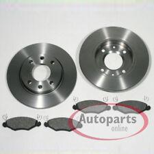 Peugeot 206 Bremsscheiben Bremsen Bremsbeläge Klötze für vorne die Vorderachse*